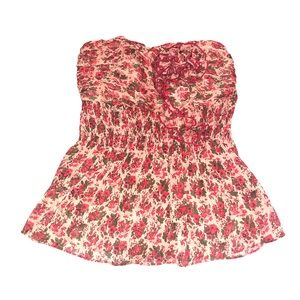 Like New Arden B Floral Tube Top~
